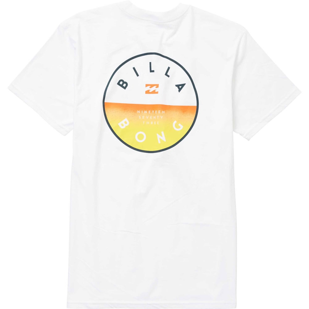 Billabong Guys' Rotor Fill Tee - White, S