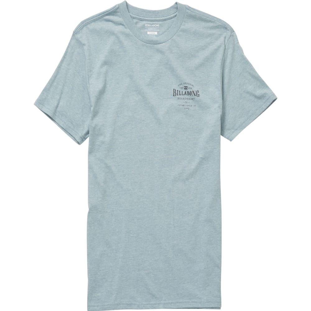 Billabong Guys' Rockaway Short-Sleeve Tee - Blue, S