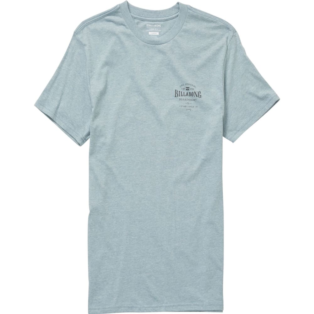 BILLABONG Guys' Rockaway Short-Sleeve Tee - DENIM HTR-DNH