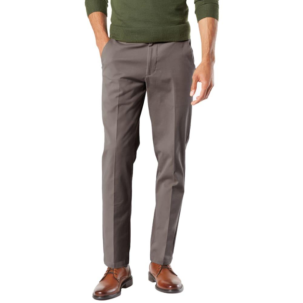 DOCKERS Men's Slim Tapered Fit Workday Khaki Smart 360 FLEX Pants - STORM 0004