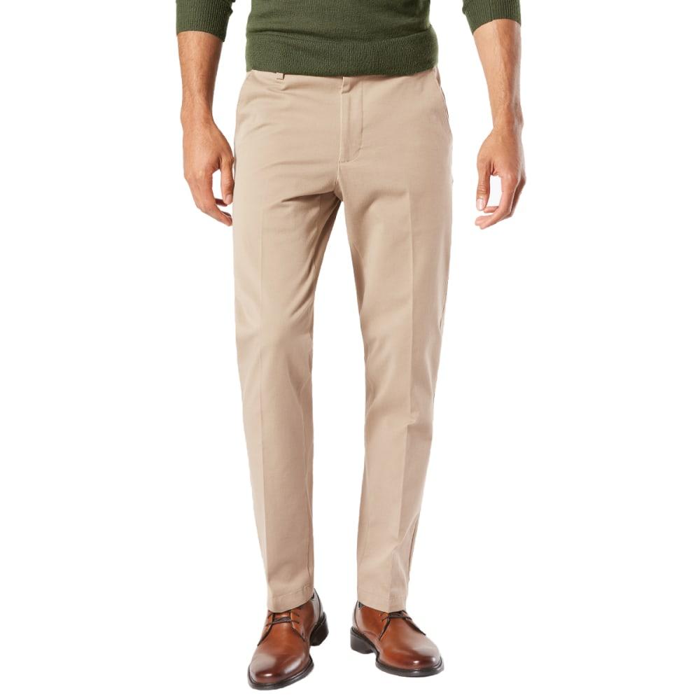 DOCKERS Men's Slim Tapered Fit Workday Khaki Smart 360 FLEX Pants 30/30