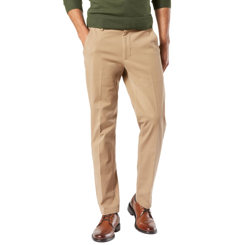 DOCKERS Men's Slim Tapered Fit Workday Khaki Smart 360 FLEX Pants - N BRIT KHAKI 0001