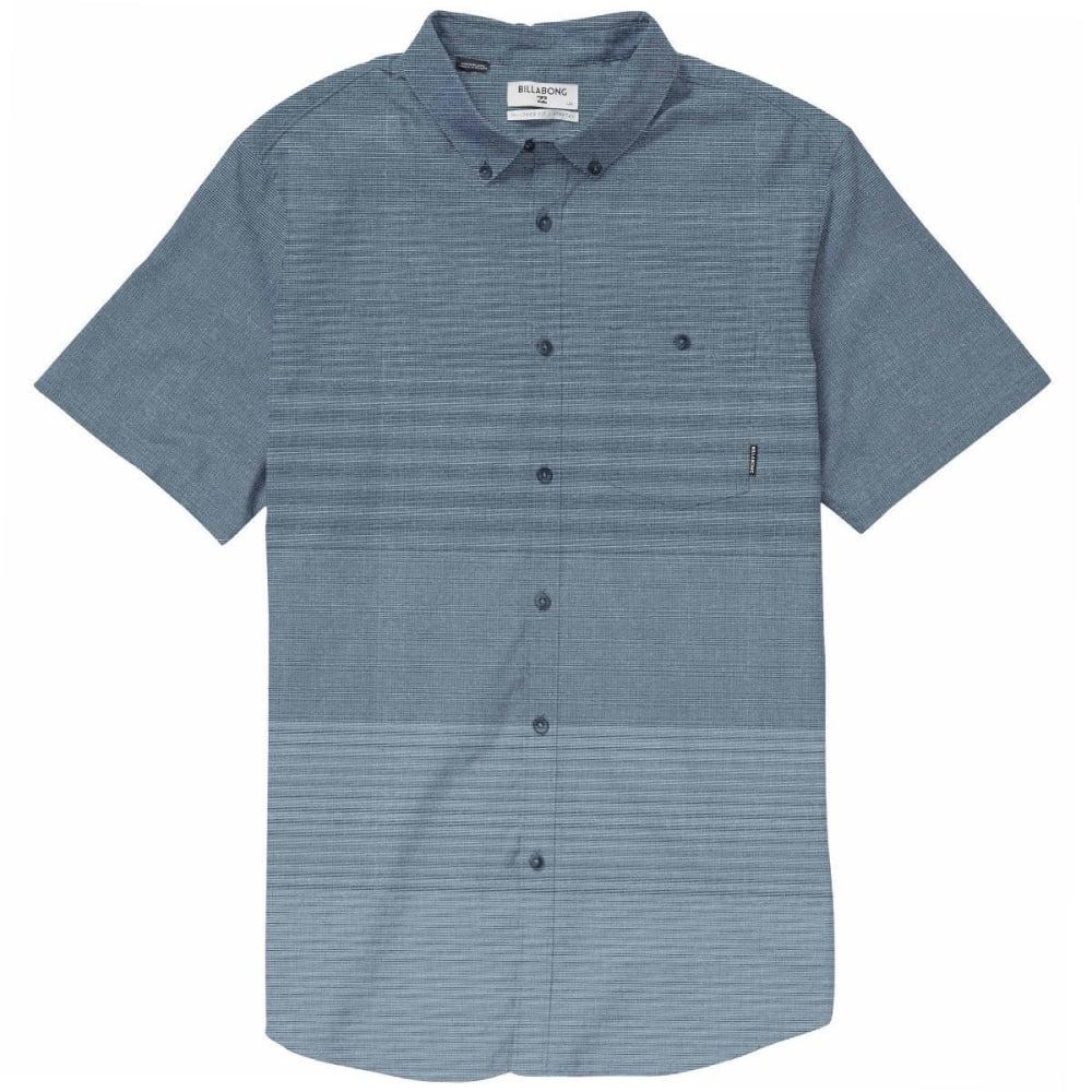 BILLABONG Guys' Faderade Short-Sleeve Shirt - BLUE-BLU