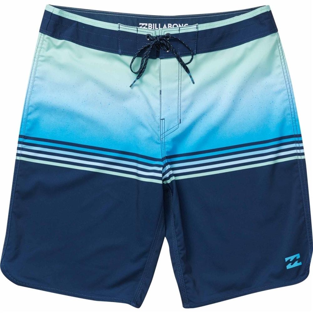Billabong Men's Fifty50 X Boardshorts - Blue, 38