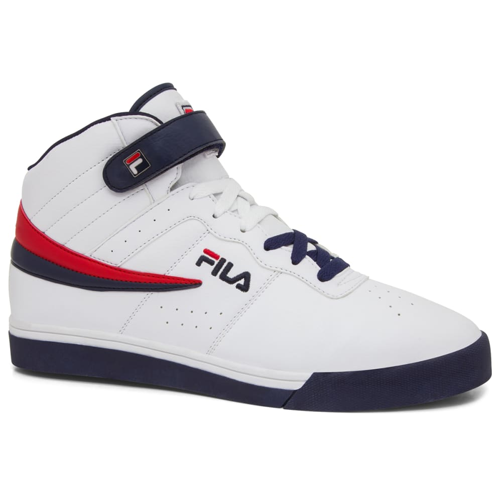 FILA Men's Vulc 13 Mid Basketball Shoes - WHITE-125