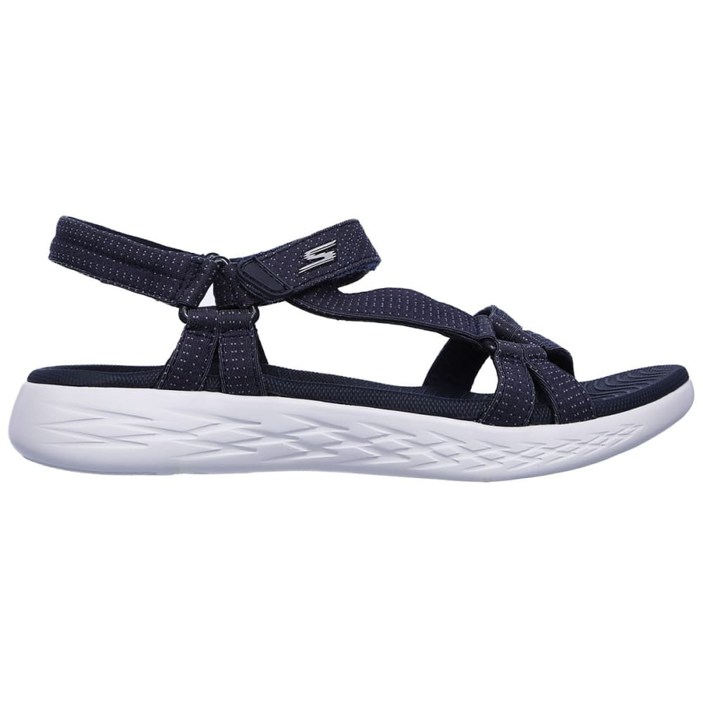 SKECHERS Women's On the GO 600 -  Brilliancy Sandals - NAVY-NVY