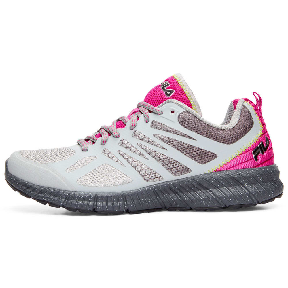 FILA Women's Memory Speedstride TR Trail Running Shoes - HIGHRISE - 260