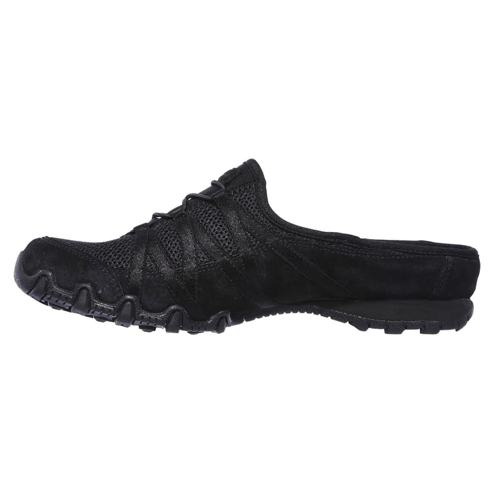 SKECHERS Women's Relaxed Fit: Bikers -  Cuddy Casual Slip-On Shoes - BLACK-BLK