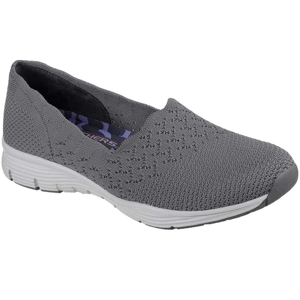 SKECHERS Women's Seager - Stat Casual Slip-On Shoes 6