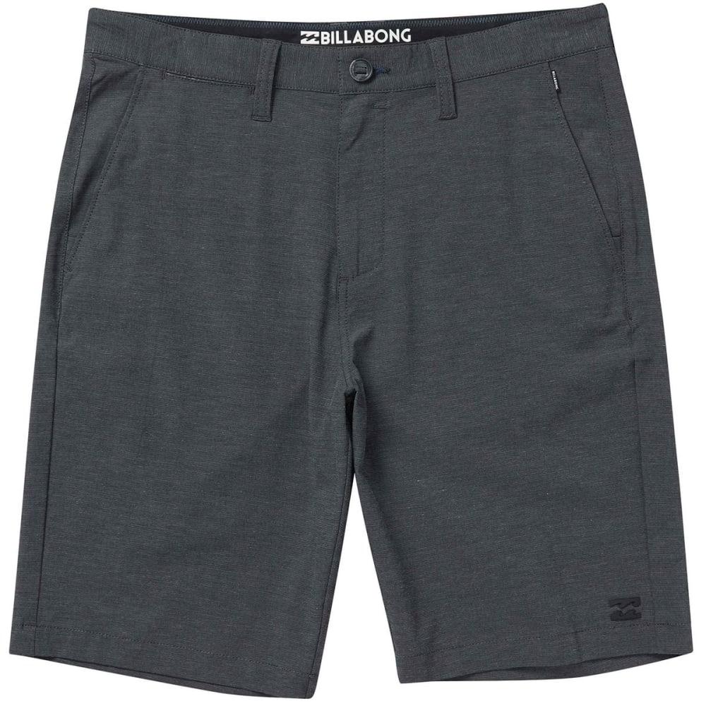 Billabong Guys' Crossfire X Submersibles Shorts - Black, 28
