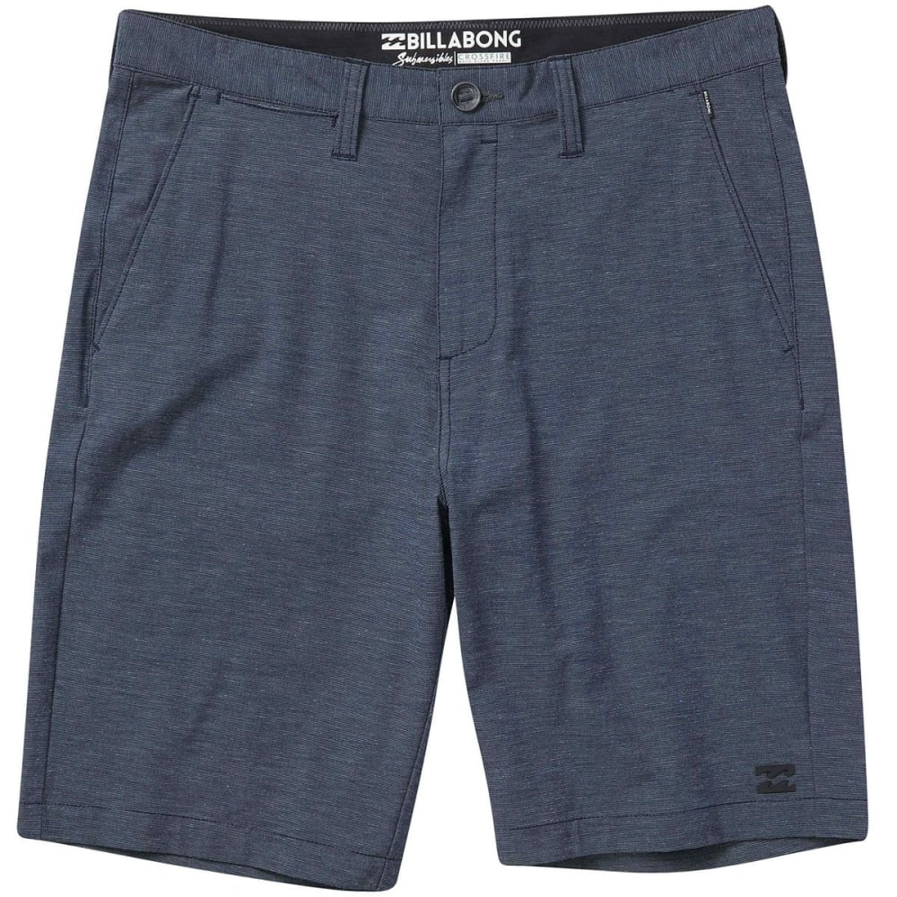 Billabong Guys' Crossfire X Submersibles Shorts - Blue, 30