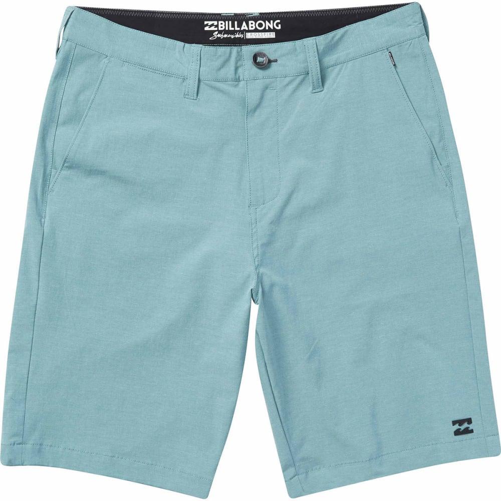 Billabong Guys' Crossfire X Submersibles Shorts - Blue, 30