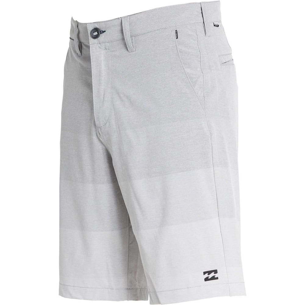 BILLABONG Guys' Crossfire X Stretch Walkshort - SILVER-SIL