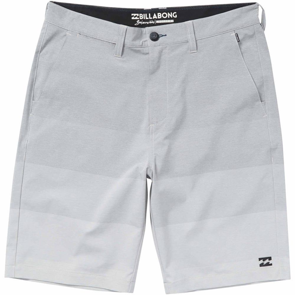 BILLABONG Guys' Crossfire X Stretch Walkshort - SILVER-SIL