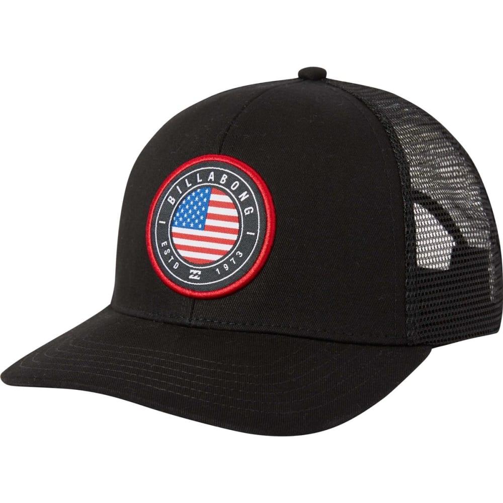 Billabong Guys' Native Rotor Trucker Hat - Black, ONESIZE