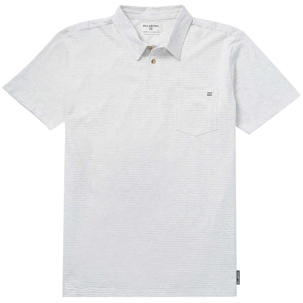 BILLABONG Guys' Standard Issue Short-Sleeve Polo Shirt - EGGSHELL-EGS
