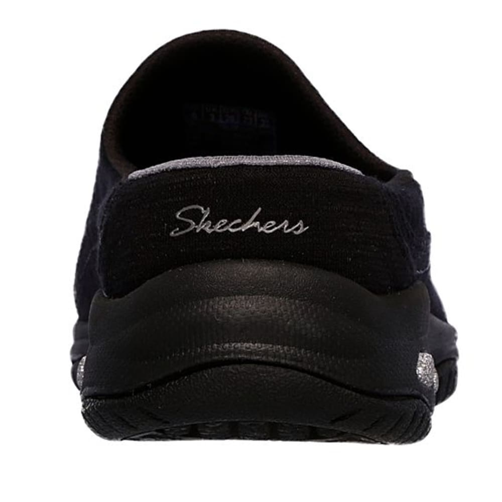 SKECHERS Women's Relaxed Fit: Commute - Carpool Casual Slip-On Shoes - BLACK