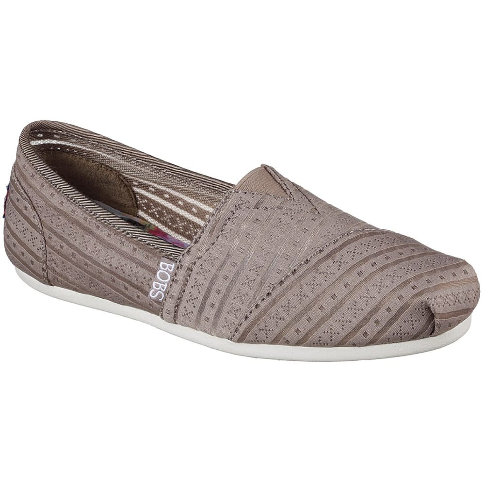 Skechers Women's Bobs Plush Urban Rose Casual Shoes - Brown, 7