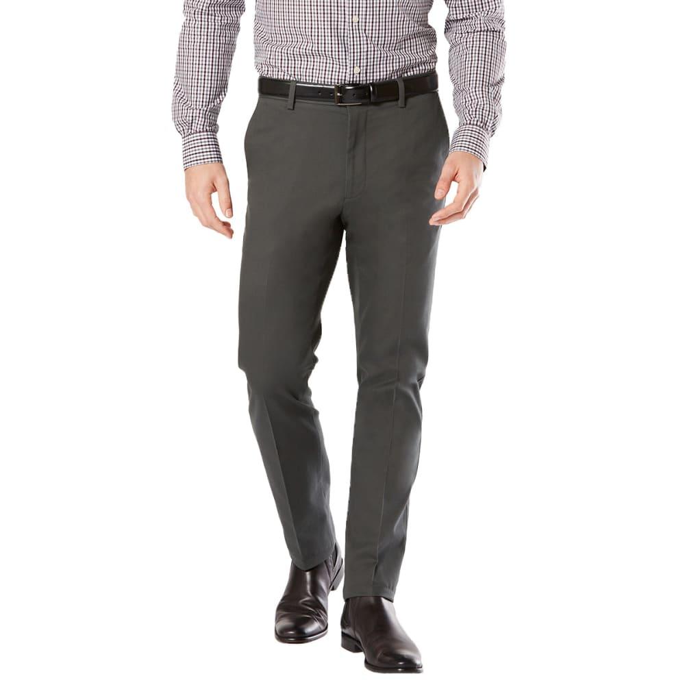 DOCKERS Men's Slim Tapered Fit Signature Khaki Pants - STEELHEAD 0011