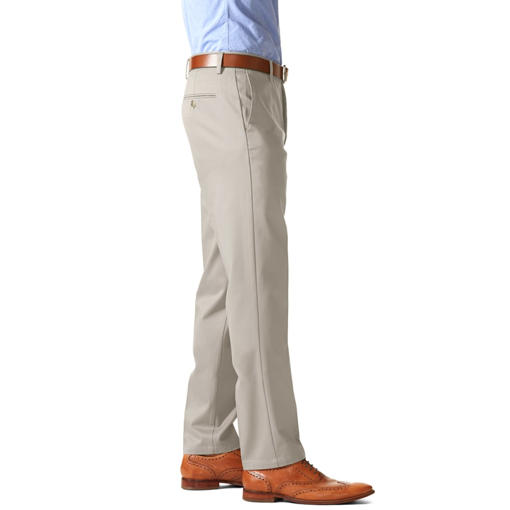 DOCKERS Men's Slim Tapered Fit Signature Khaki Pants - CLOUD 0009