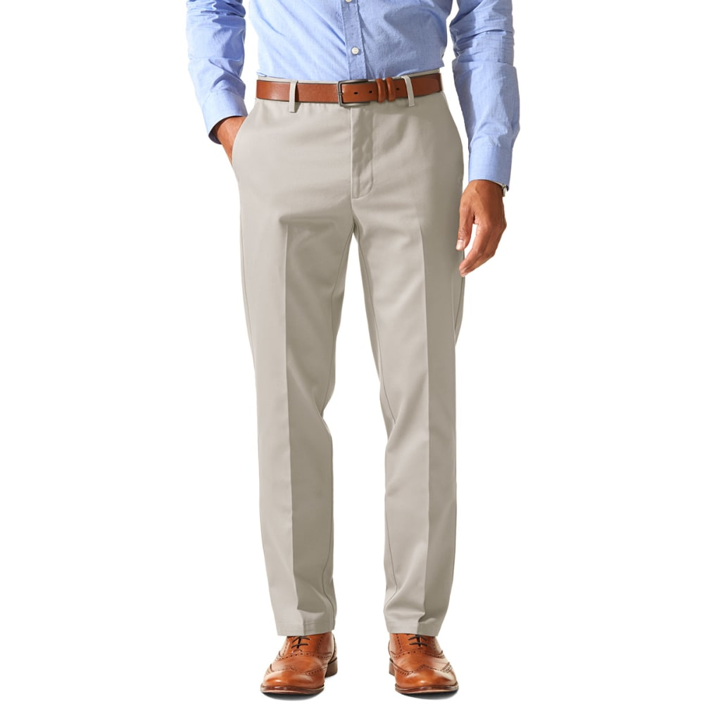 DOCKERS Men's Slim Tapered Fit Signature Khaki Pants  - Discontinued Style 28/32