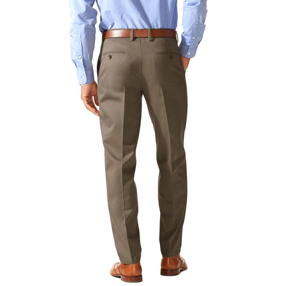 DOCKERS Men's Slim Tapered Fit Signature Khaki Pants - DARK PEBBLE 0004