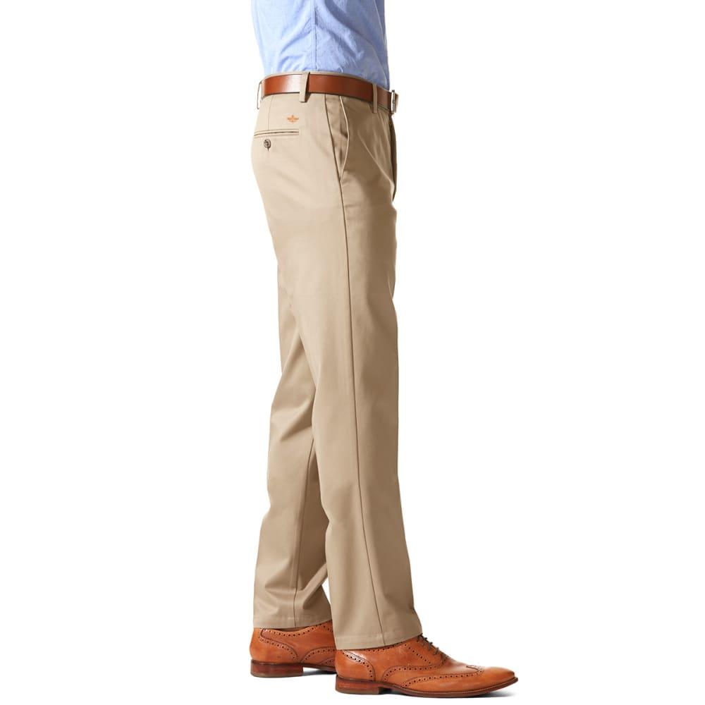 DOCKERS Men's Slim Tapered Fit Signature Khaki Pants - TIMBERWOLF 0010