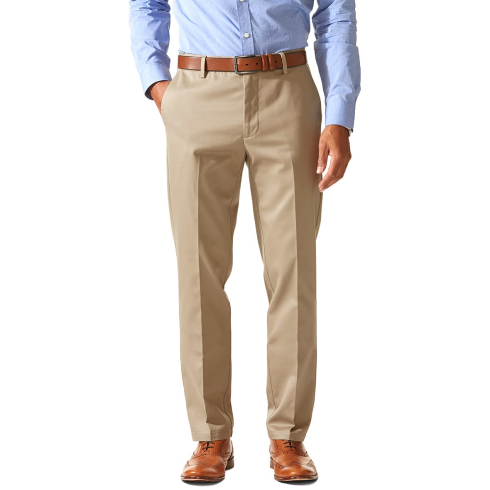 DOCKERS Men's Slim Tapered Fit Signature Khaki Pants - TIMBERWOLF 0010