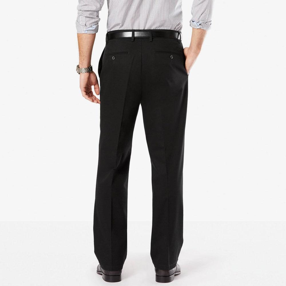 DOCKERS Men's Relaxed Fit Signature Khaki Pants - BLACK 0004