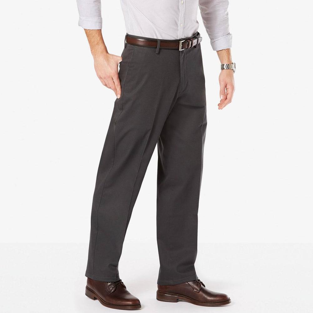 DOCKERS Men's Relaxed Fit Signature Khaki Pants - STEELHEAD 0002