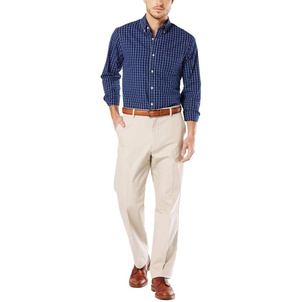DOCKERS Men's Relaxed Fit Signature Khaki Pants - CLOUD 0003