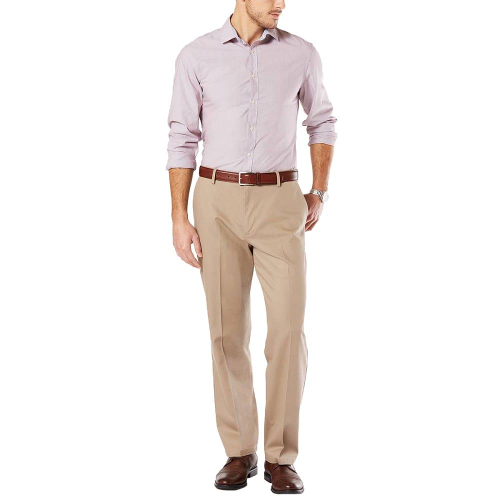 DOCKERS Men's Relaxed Fit Signature Khaki Pants 33/32