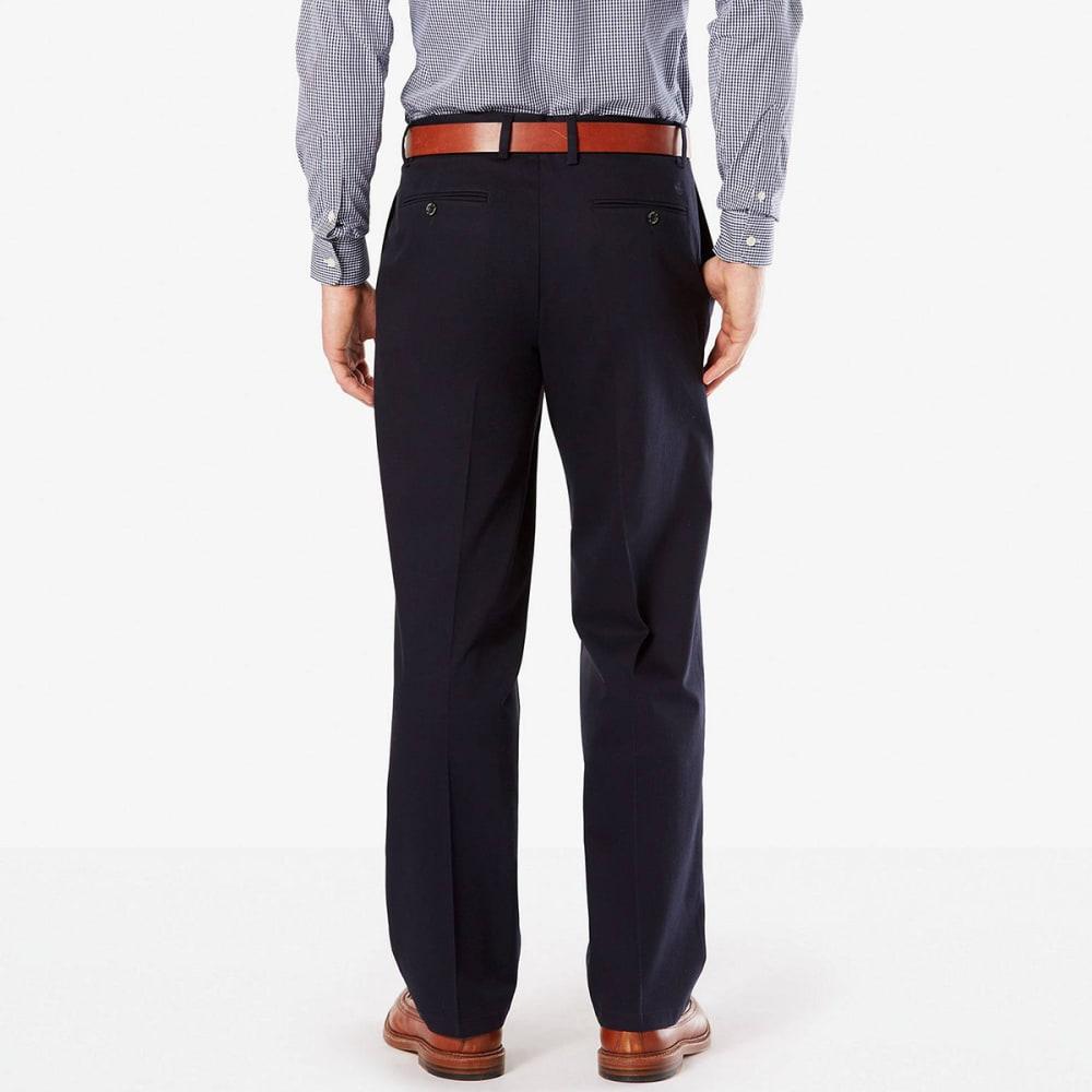 DOCKERS Men's Relaxed Fit Signature Khaki Pants - DOCKER NAVY 0001