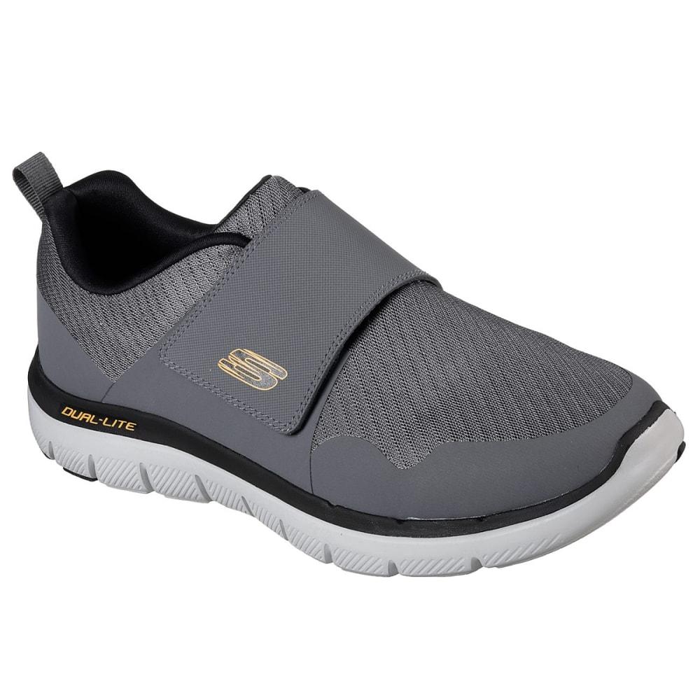 SKECHERS Men's Flex Advantage 2.0- Gurn Sneakers - CHARCOAL-CCOR