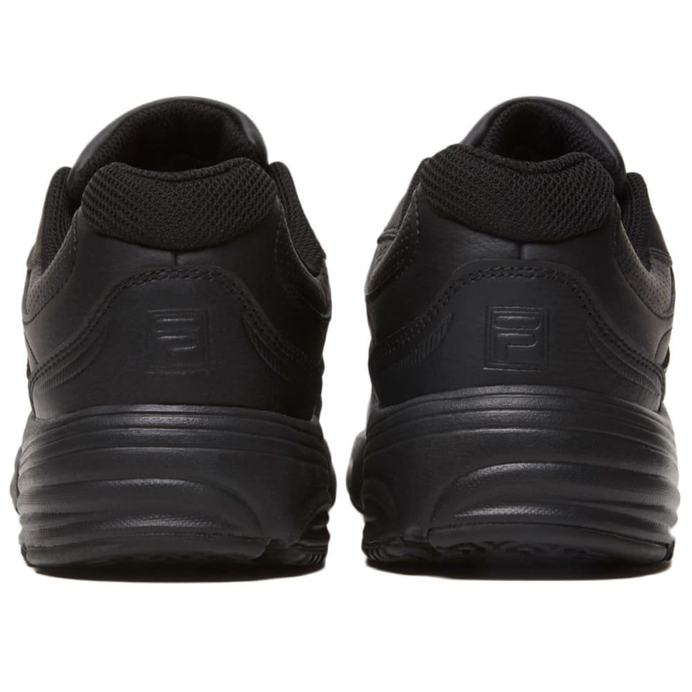 FILA Women's Memory Workshift Service Shoes, Black - BLACK-001