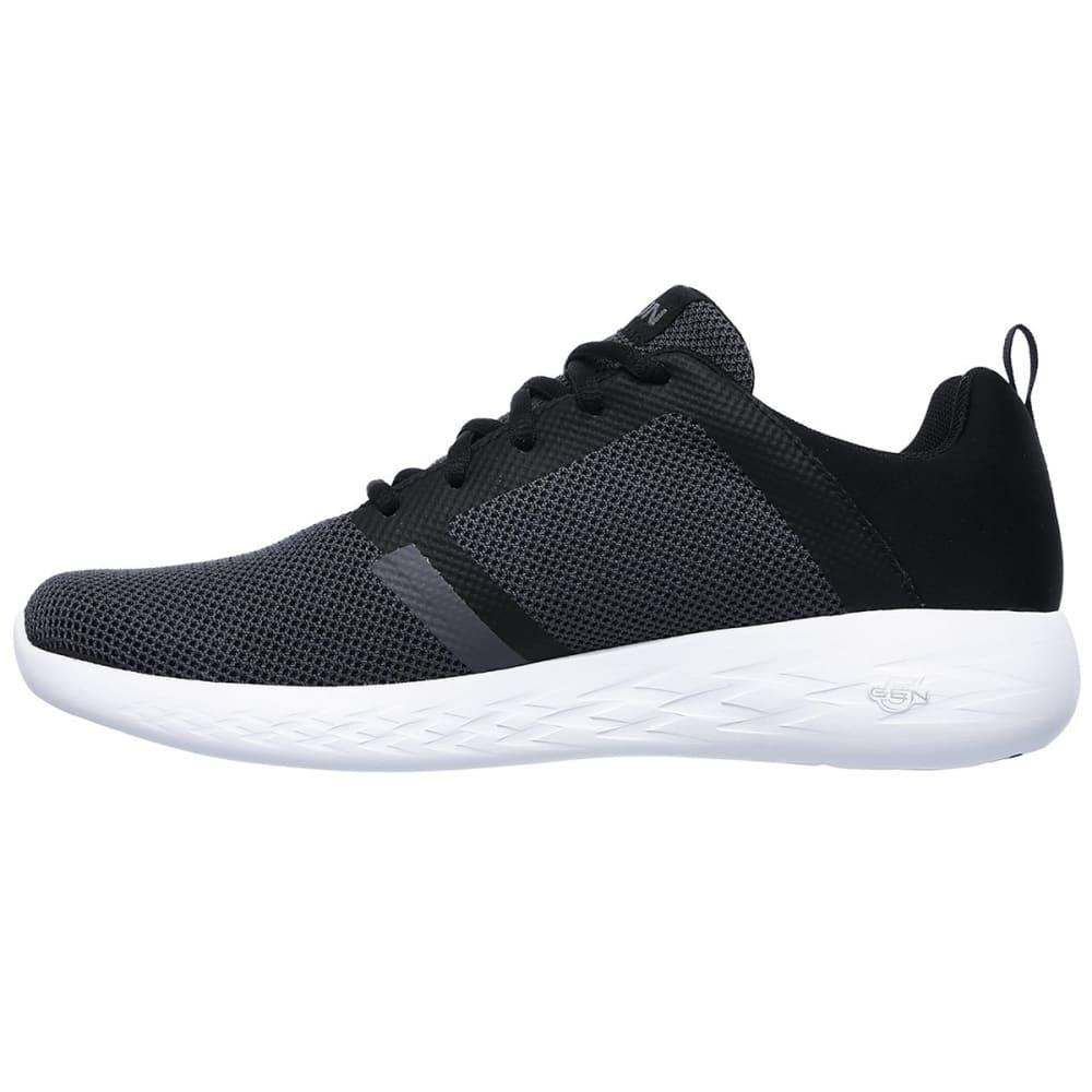 SKECHERS Men's Go Run 600 - Revel Running Shoes - BLACK-BKW