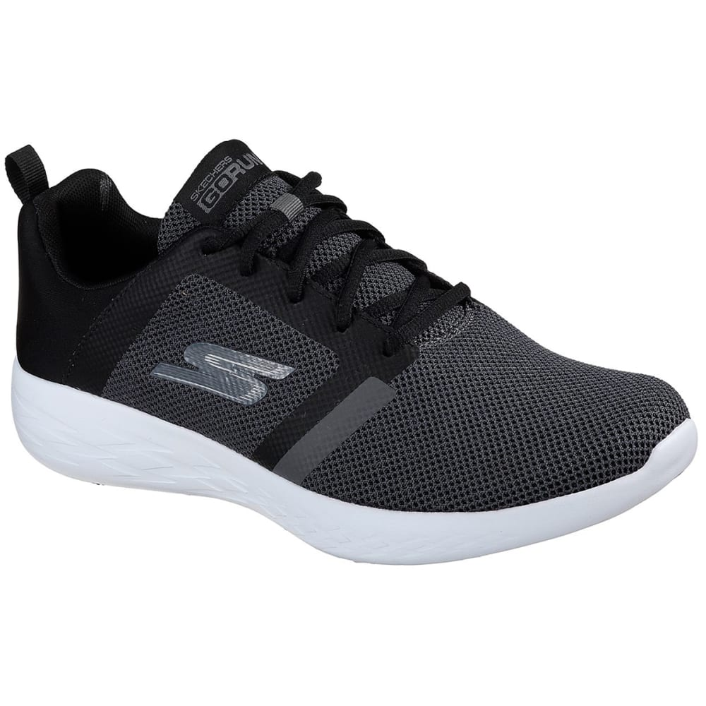 Skechers Men's Go Run 600 - Revel Running Shoes - Black, 8.5