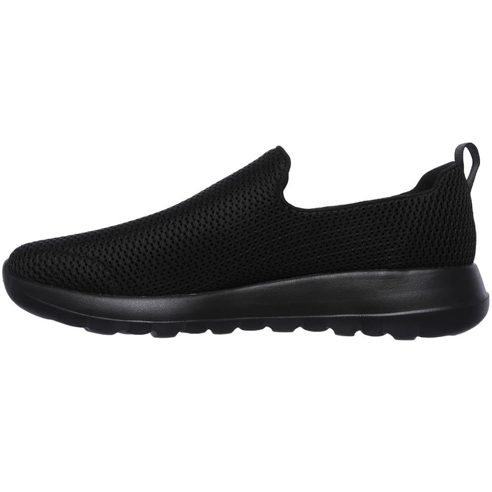 SKECHERS Men's GOwalk Max Casual Slip-On Shoes, Wide - BLACK-BBK
