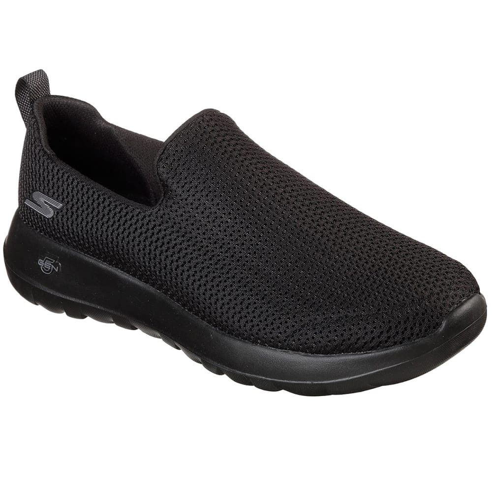 SKECHERS Men's GOwalk Max Casual Slip-On Shoes, Wide - BLACK-BBK