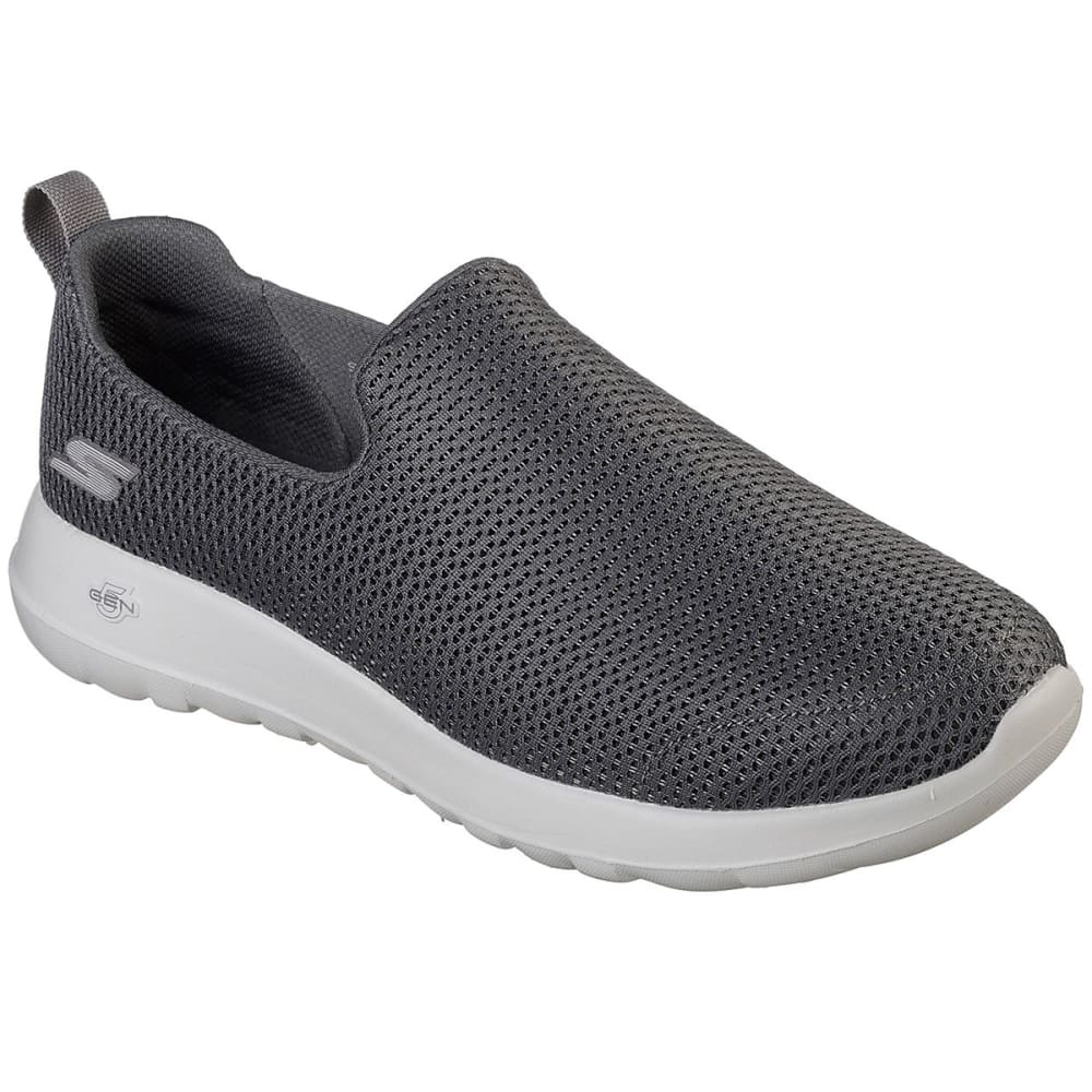 SKECHERS Men's GOwalk Max Casual Slip-On Shoes, Wide - CHARCOAL-CHAR