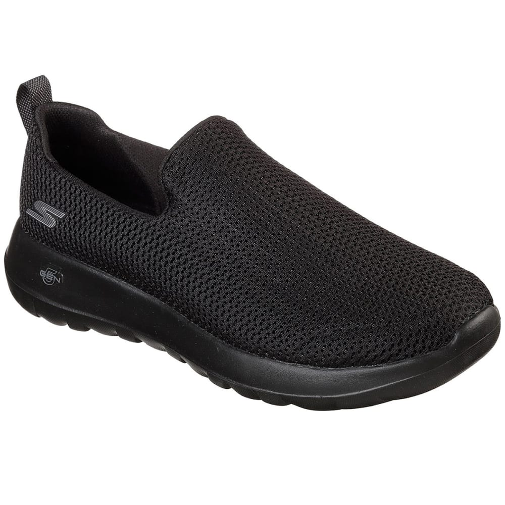 SKECHERS Men's GOwalk Max Casual Slip-On Shoes - BLACK-BBK