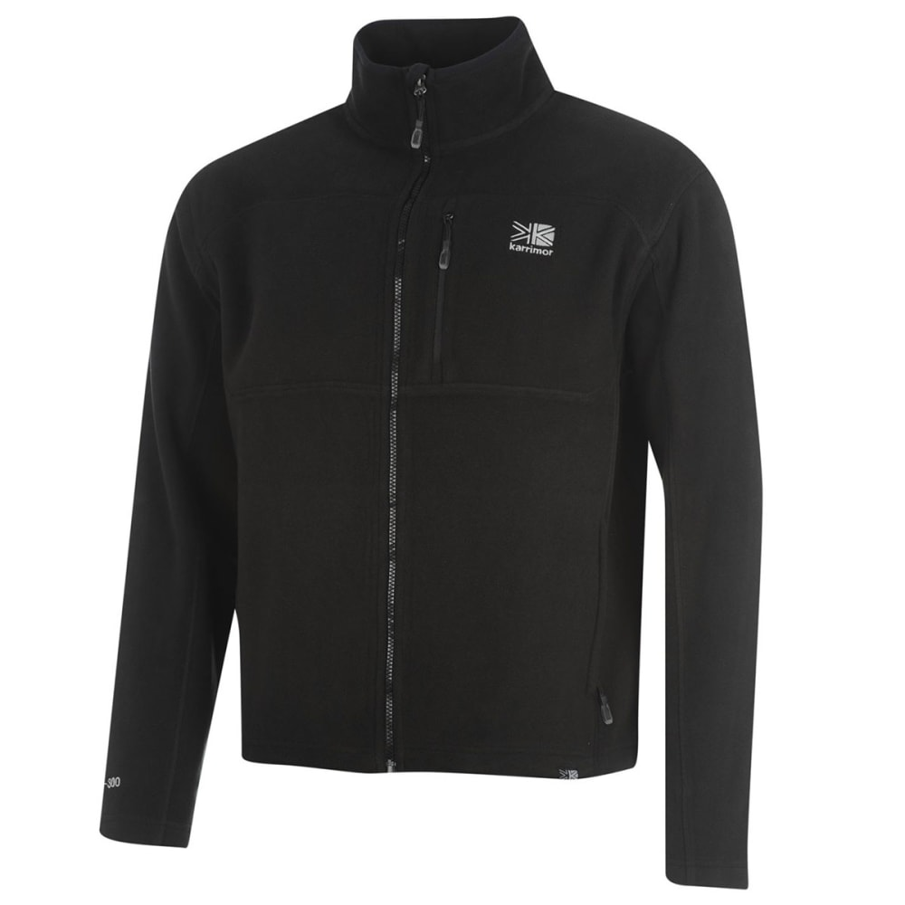 KARRIMOR Men's Fleece Jacket - BLACK