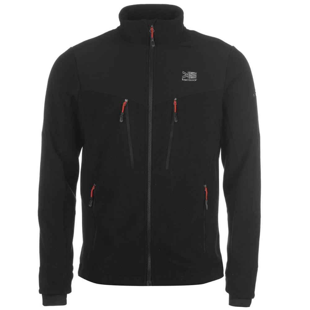 KARRIMOR Men's Hoolie Fleece Jacket - BLACK
