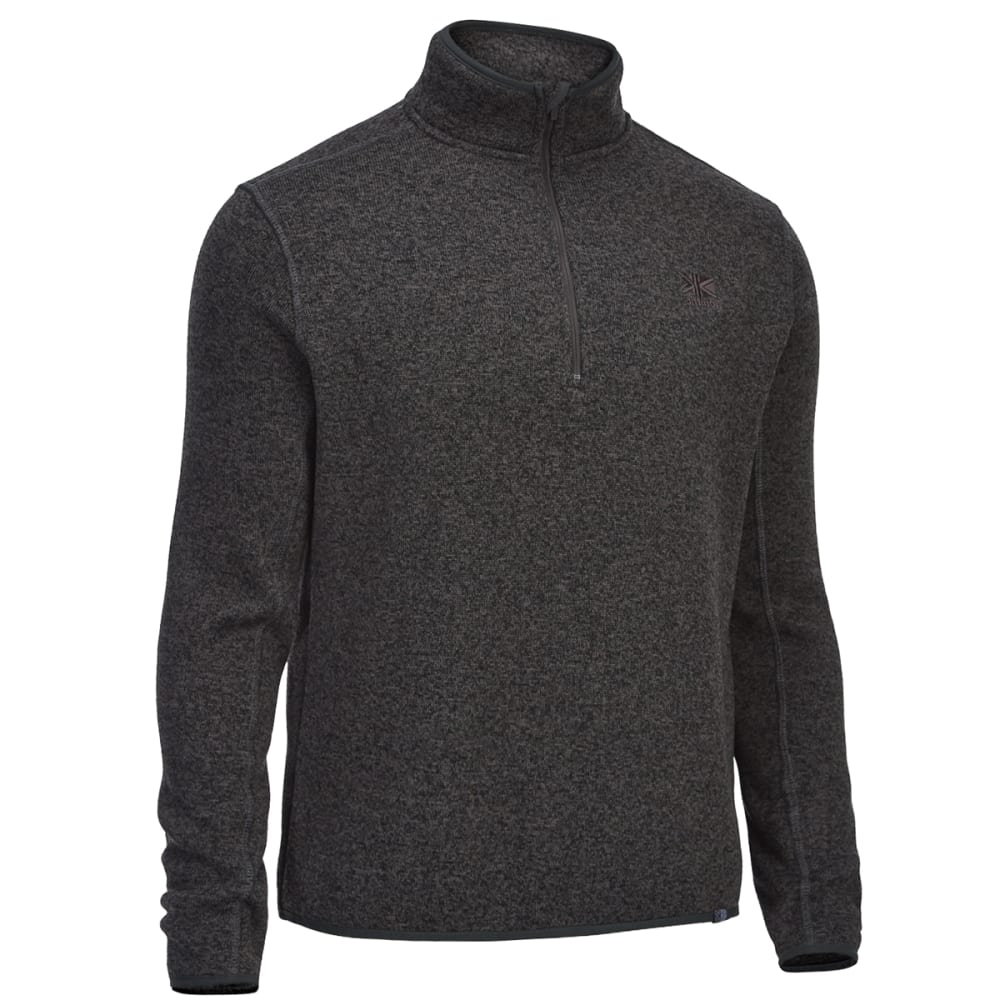 Karrimor Men's Life Fleece Pullover - Black, L