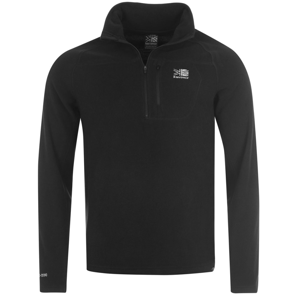 KARRIMOR Men's KS200 Microfleece 1/4 Zip Pullover XS