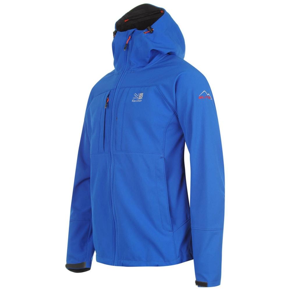 KARRIMOR Men's Alpiniste Soft Shell Jacket - BLUE/ORANGE