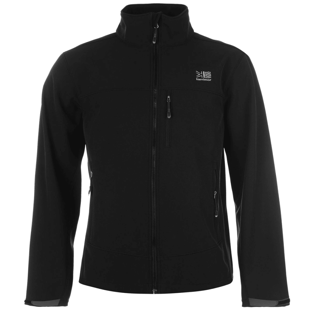 KARRIMOR Men's Ridge Soft Shell Jacket - BLACK