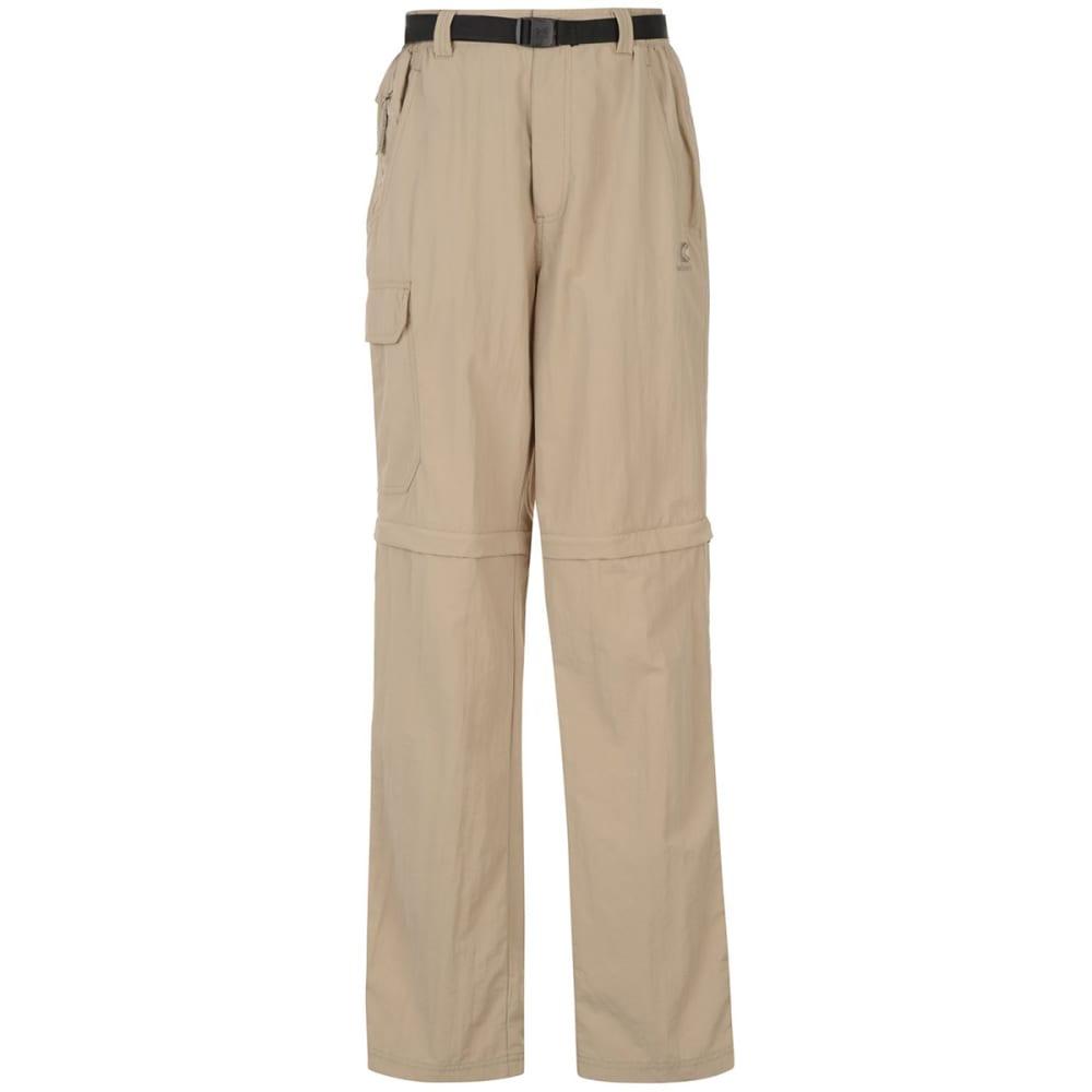 KARRIMOR Men's Aspen Zip-Off Pants - BEIGE