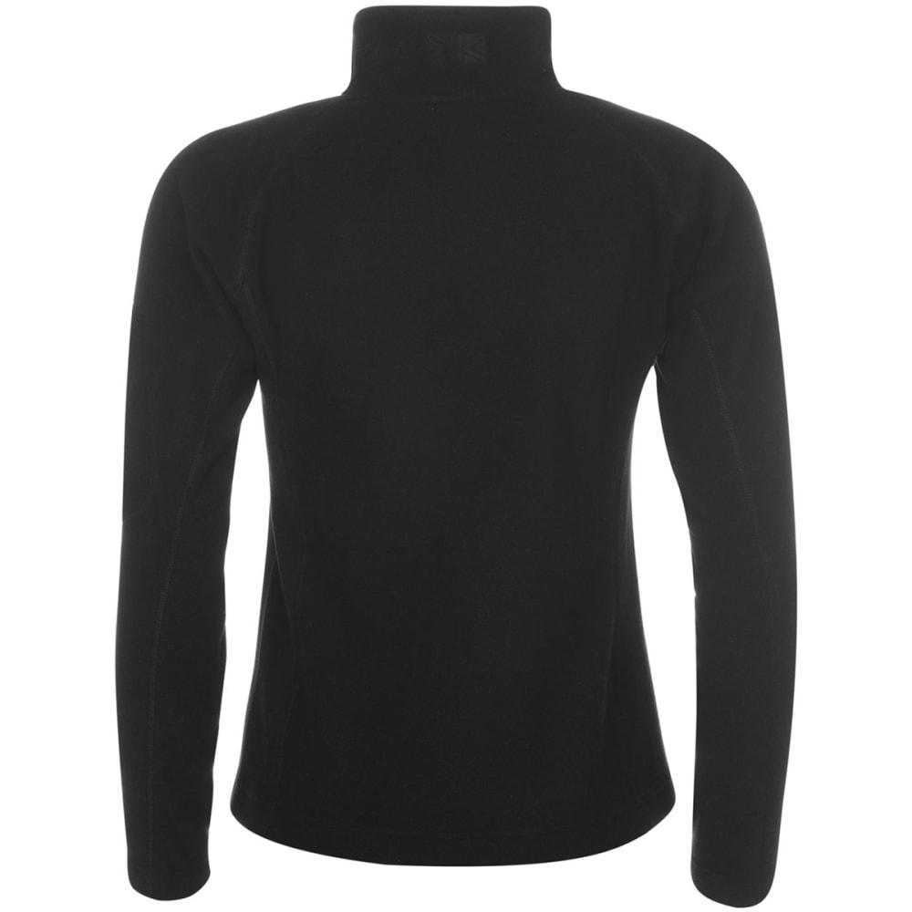KARRIMOR Women's Microfleece Pullover - BLACK