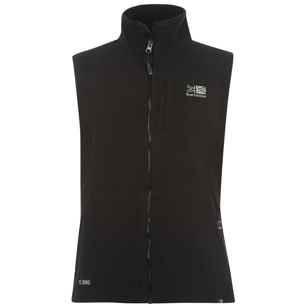 KARRIMOR Women's Fleece Gilet Vest - BLACK